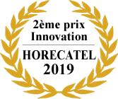 2eme prix Innovation Horecatel 2019